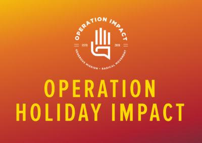 Operation Holiday Impact